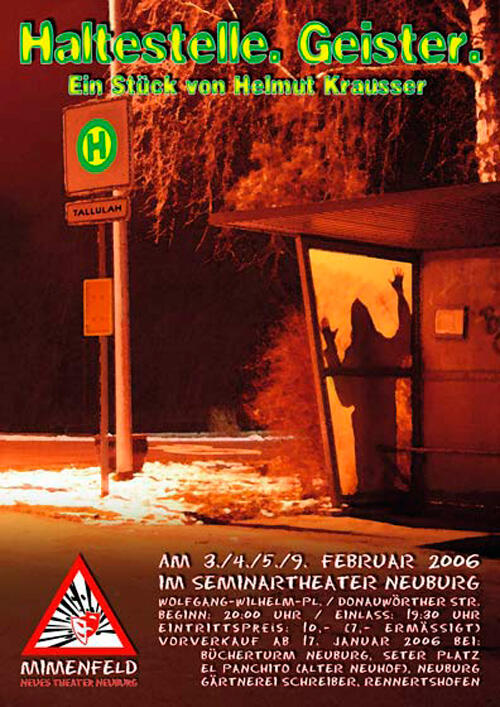 Haltestelle Geister Plakat